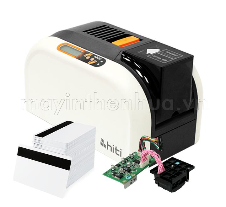 Máy in thẻ nhựa HiTi CS200e - Mã hóa thẻ từ