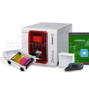 Bộ máy in thẻ nhựa Evolis Zenius Starter