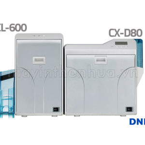 Máy in thẻ nhựa Retransfer DNP CX-D80 Lamination