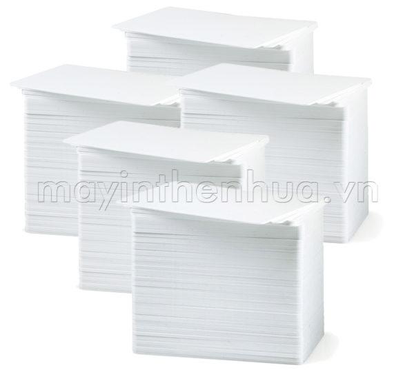 Thẻ nhựa PVC Trắng bóng - 05 boxes