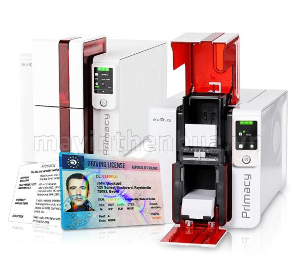 Máy in thẻ nhựa Evolis Primacy - 02 mặt tự động