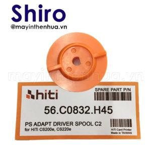 Đế trục xoay máy in thẻ nhựa HiTi CS200e Cam