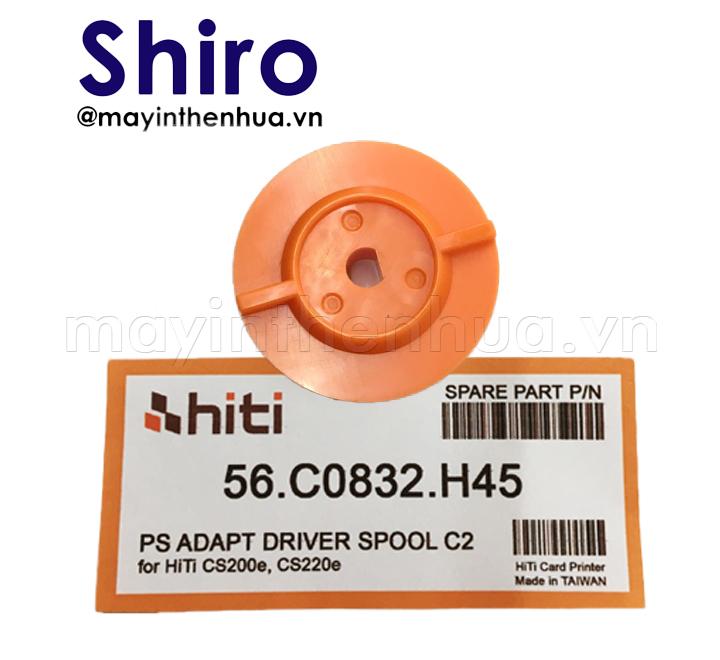 DĐế trục xoay máy in thẻ nhựa HiTi CS200e Cam