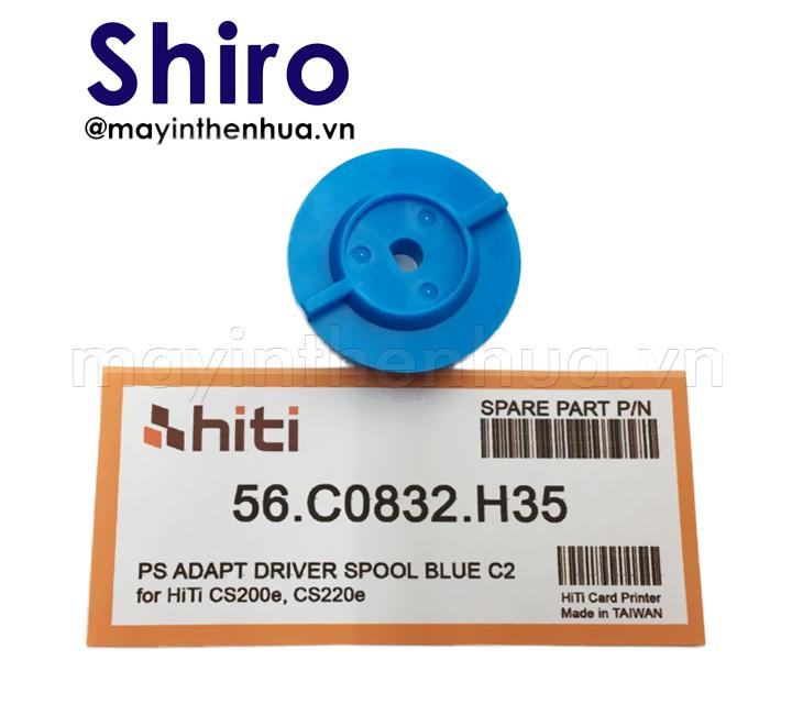 DĐế trục xoay máy in thẻ nhựa HiTi CS200e Xanh