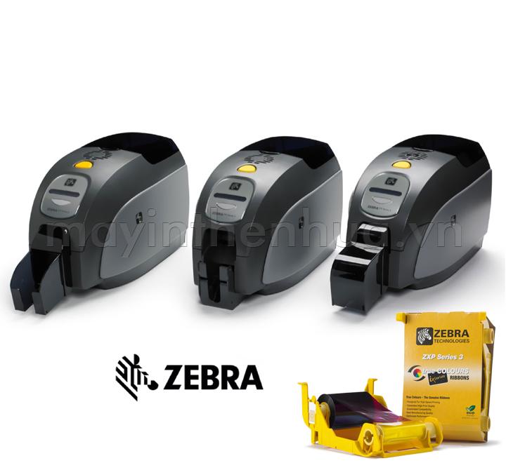 Máy in thẻ nhựa Zebra ZXP Series 3 (02 mặt)
