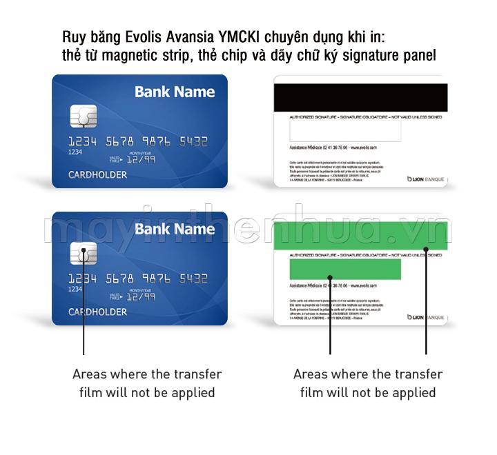 Ruy băng màu YMCK Evolis Avansia RT4F010SAA