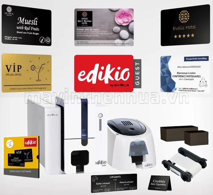 Máy in thẻ khách hàng EDIKIO FLEX