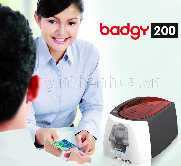 Máy in thẻ khách hàng EVOLIS BADGY200