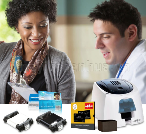 Máy in thẻ khám bệnh thông minh Edikio Access