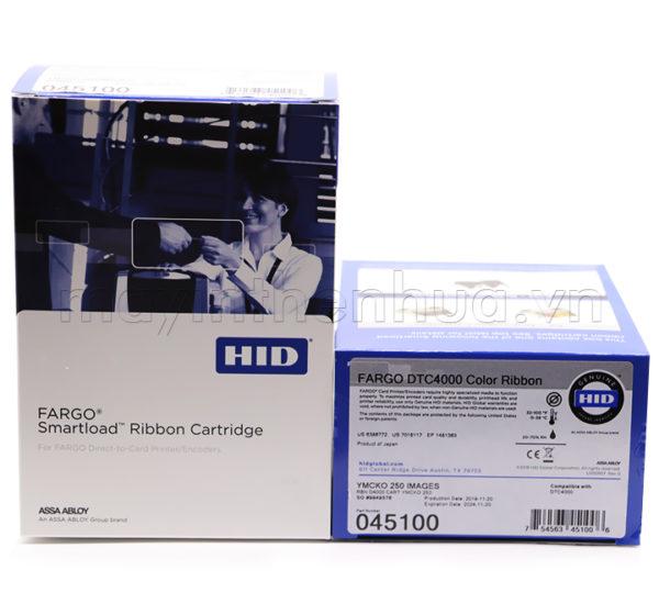 Ruy băng màu YMCKO 45100 Fargo DTC4000/4250e