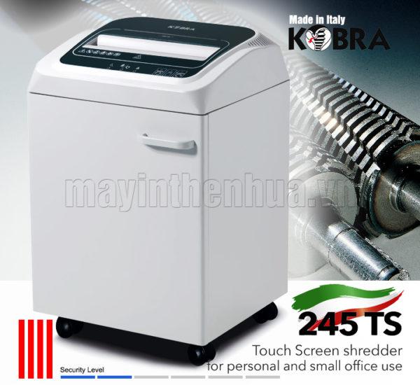 Máy hủy tài liệu Kobra Máy hủy tài liệu Kobra 245 TS S4 240V