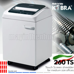 Máy hủy tài liệu KOBRA 260 TS C4 240V
