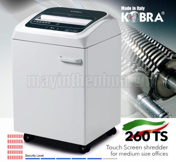 Máy hủy tài liệu KOBRA 260 TS HS 240V