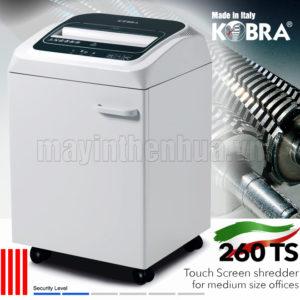 Máy hủy tài liệu KOBRA 260 TS S4 E/S 240V
