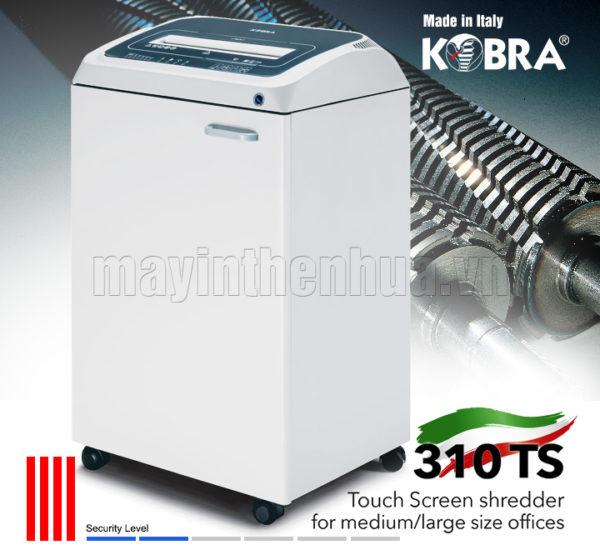 Máy hủy tài liệu KOBRA 310 TS SS4 240V