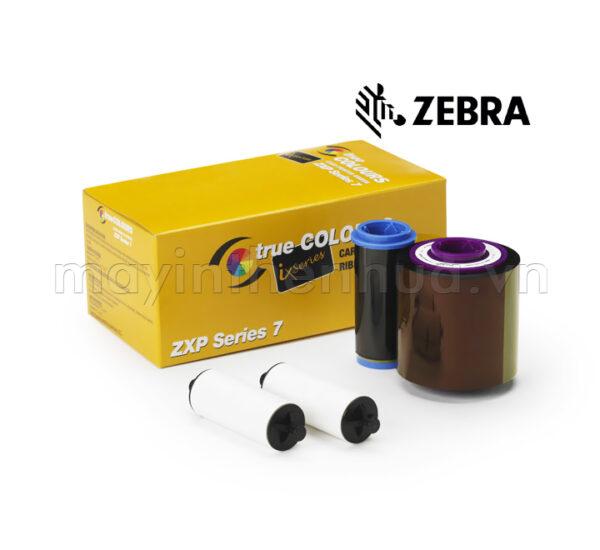 Ruy băng mực đen K Resin Zebra ZXP7 800077-701