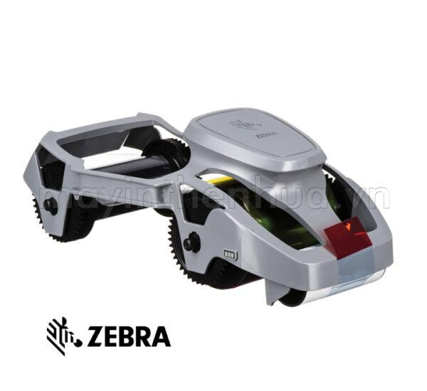 Ruy băng mực màu YMCKO 800300-350AP máy in Zebra ZC100/ZC300