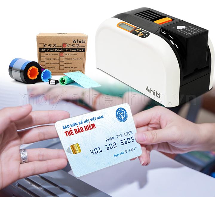 Máy in thẻ bảo hiểm y tế điện tử HiTi CS200e