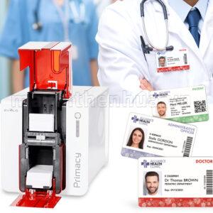 Máy in thẻ bảo hiểm y tế Evolis Primacy
