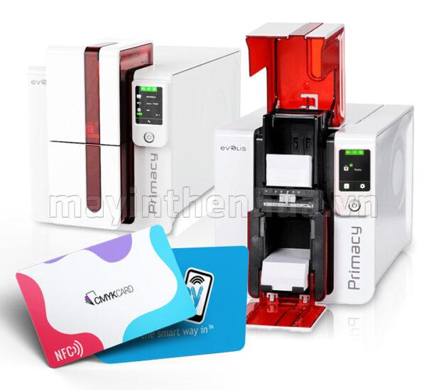 Máy in thẻ chip RFID Evolis Primacy LCD